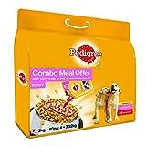 #5: Pedigree Puppy Mixed Feeding (Dry 3kg + Gravy 4X 80gm ) Chicken & Milk 3.32kg