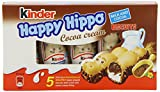 Kinder Happy Hippo Cocoa Crème, 5 individually wrapped...