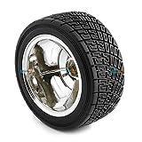 #10: (1pcs) Export Quality 83MM Large Robot Smart Car Wheel, 35MM Width Surface - KG390