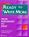 Image de Ready to Write More: From Paragraph to Essay