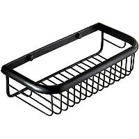 Nokozan latón único Tier estantería esquinera para baño de Ducha Estante  para baño Estante Organizador Cesta da6c1a59afaf