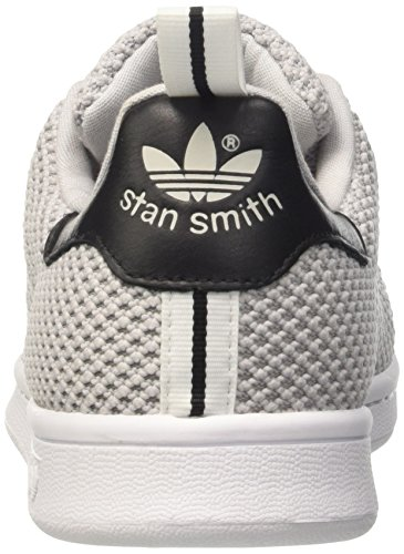 adidas Stan Smith, Baskets Basses Homme Gris (Light Solid Grey/Light Solid Grey/Core Black)