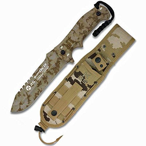 arido camo Messer. SIROCO Modell. Gesamtgröße : 27,3 cm (Modelle Deutsche Infanterie)