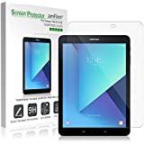 Galaxy Tab S3 9.7 Screen Protector Glass, amFilm Glass Screen Protector for Samsung Galaxy Tab S3 9.7 inch (2017)(1-Pack)