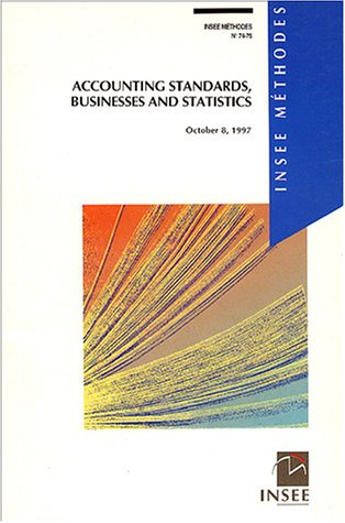 Accounting standards, businesses and statistics