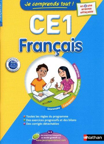 JE COMPRENDS TOUT FRANCAIS CE1