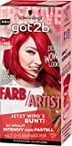 Schwarzkopf Got2b Farb/Artist Haarfarbe, 092 Lollipop Rot, 3er Pack (3 x 80 ml)