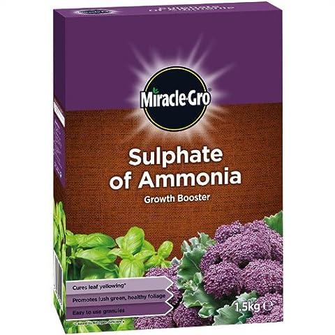 Miracle Gro de sulfate d'ammoniaque croissance Booster 1,5kg