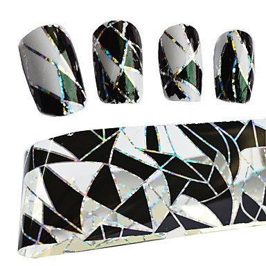 MZP 1 Autocollant d'art de clou Autocollants 3D pour ongles Maquillage cosmétique Nail Art Design