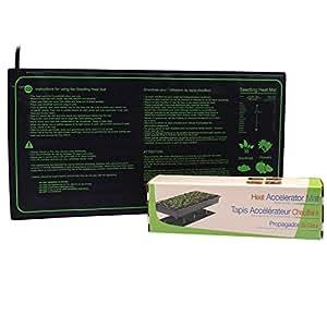 Aiicioo tapis chauffant pour les semis de serre aider les plantes germer par temps froid mat - Tapis chauffant pour plante ...