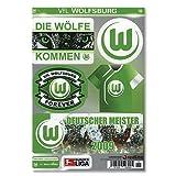 Wolfsburg Aufkleberkarte-One Size