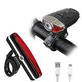 AOVEEISELED Fahrrad Lichter Set USB Wiederaufladbare...