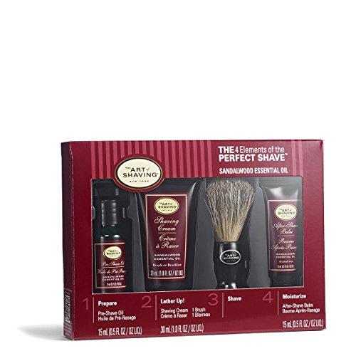 the-art-of-shaving-starter-kit-sandalwood-pre-shave-oil-shaving-cream-brush-after-shave-balm-4pcs