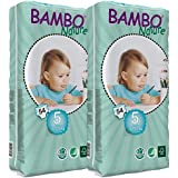 Bambo Nature Nappies (Tall) TWIN Pack - Junior (Size 5)