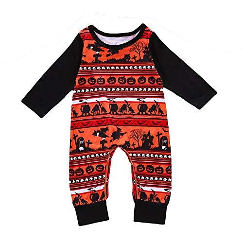 Halloween Romper Baby 3-18 Monate Overall Kinder Pyjama Outfit Onesie