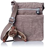 Kipling Womens Eldorado Across Body Shoulder Bag Monkey Brown K13732757 Small