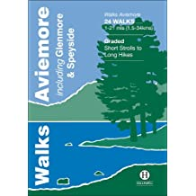Walks Aviemore: Including Glenmore & Speyside (Hallewell Pocket Walking Guides)