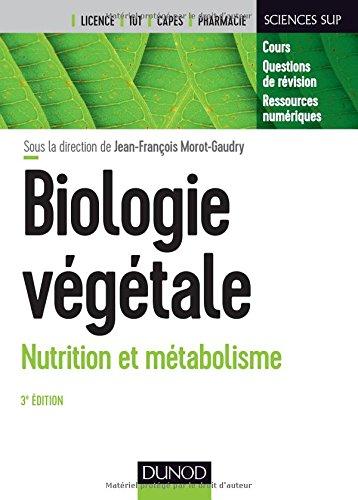 Biologie végétale : Nutrition et métabolisme