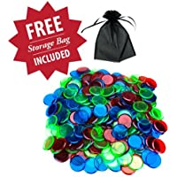 300 Mixed Color Bingo Markers with Free Storage Bag by Royal Bingo Supplies by Royal Bingo Supplies