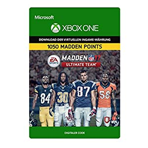 Madden NFL 17: MUT 1050 Madden Points Pack [Xbox One – Download Code]