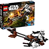 LEGO Star Wars 75532 - Scout Trooper und Speeder Bike