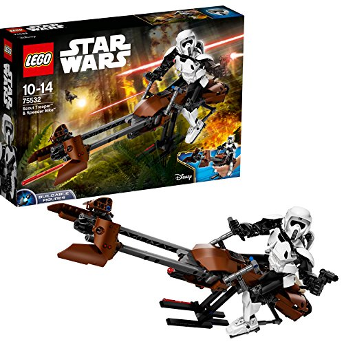 Foto LEGO 75532 - Constraction Star Wars, Scout Trooper e Speeder Bike