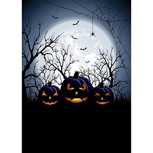 1989candy Halloween Thema Fotografie Hintergrund Stoff Hintergrund Studio Dekor (W17)
