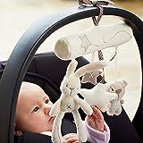 Zeagoo Einschlafhilfe Baby Babyspieluhr Mobile Bett Rasseln Spielzeug Spieluhr Musikuhr - 3