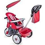 Feber - Baby Trike Easy Evolution, triciclo, color rojo (Famosa 800009473)