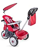 FEBER - Triciclo Baby Trike Easy Evolution, color rojo (Famosa 800009473)
