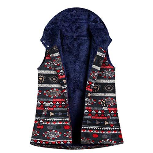 Hffan Damen Jacken,Revers Bikerjacke Pilotenjacke Lederjacke Solide Langarm Winterjacke Coat mit Fell Top Und Schrägem Reißverschluss