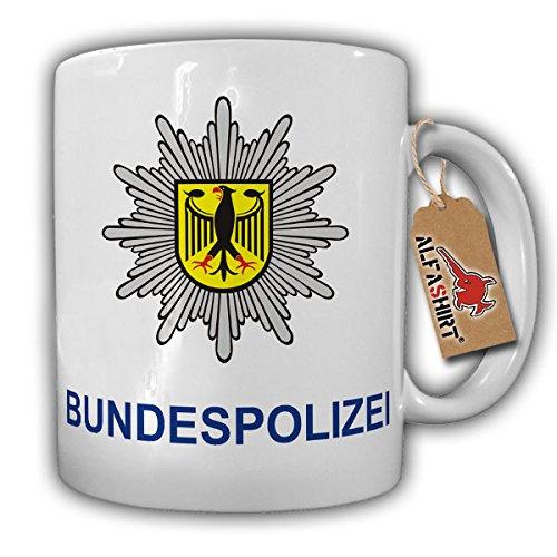 Bundespolizei Bundesgrenzschutz BGS GSG9 Polizei Deutschland BRD Adler Wappen Abzeichen Emblem - Tasse Becher Kaffee #8114 Adler-kaffee-tasse