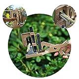 Lianqi New Style Professional V-Form Grafting Werkzeug Schere Impfung Messer Schneiden Pruner Garten und Obstgarten Werkzeuge für die Herstellung von Bonsai Obst Bäume und Reben