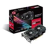 Asus ROG-STRIX-RX560-O4G-EVO-Gaming Scheda Grafica, Nero