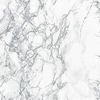"DC Fix 346-8306 Decorative Self-Adhesive Film, Grey Marble, 26"" x 78"" Roll"