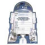 Hallmark Star Wars Einladungskarten für Geburtstagsparty, mittelgroß, 20Stück
