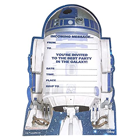 Hallmark Star Wars Birthday Party Invites, Best Party in the Galaxy - Medium, Pack of 20