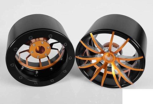 "Thorax 40 Series 3.8"" Universal Beadlock Wheel RC4WD Z-W0142 ORANGE Spider RC"