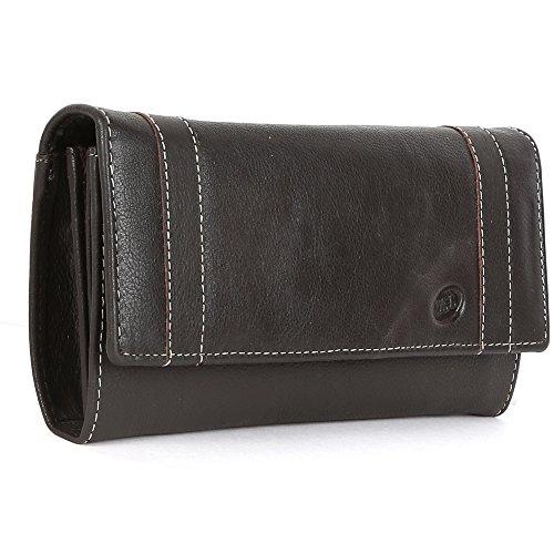 Premium Echt Leder Brieftasche für Damen Weich, bequem und stilvoll–Schwarz und Braun, Leder, braun, 21x11 (Gucci-handtaschen Auf Verkauf)
