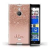 Stuff4 Personalised Custom Glitter Effect Case for Nokia