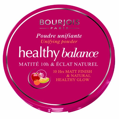 Bourjois - Healthy Balance - Maquillaje en polvo, tono beige fonce