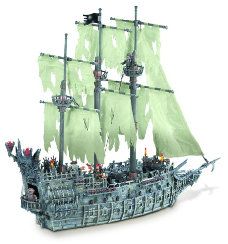 Preisvergleich Produktbild Mega Bloks 1029-Pirates of the Caribbean Flying Dutchman
