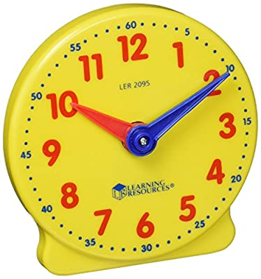 Learning Resources Big Time Student Learning Clock from Learning Resources