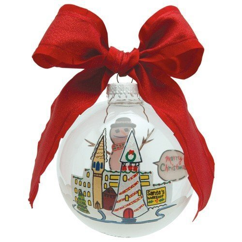 Santa Barbara Design Studio Lolita Holiday Moments Glass Ball Ornament, Cheery Mismas by Santa Barbara Design Studio -
