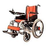 Leichtes Dual-Funktion Faltbarer Power-Rollstuhl (Li-Ion-Akku), Antrieb Mit Elektrischer Leistung Oder Einsatz Als Manueller Rollstuhl