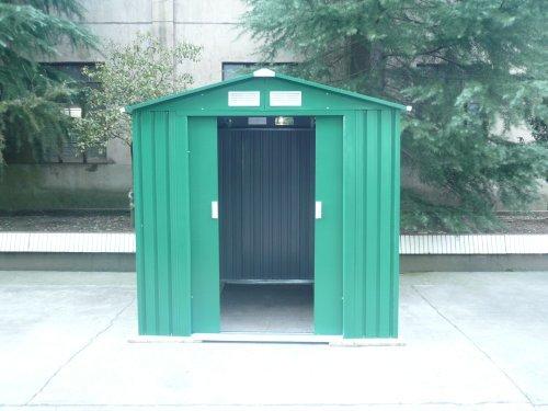 Gardiun Manchester - Caseta Jardín Metálica,  3. 64 m² Ext., 181x 201x 190 cm