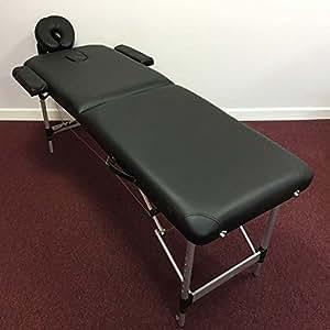 Feelgooduk tm03 table de massage pliante ultra l g re aluminium coins arrondis livr e avec - Table de massage pliante legere ...
