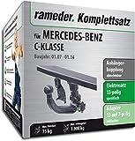 Rameder Komplettsatz, Anhängerkupplung abnehmbar + 13pol Elektrik für Mercedes-Benz C-KLASSE (123631-06224-2)