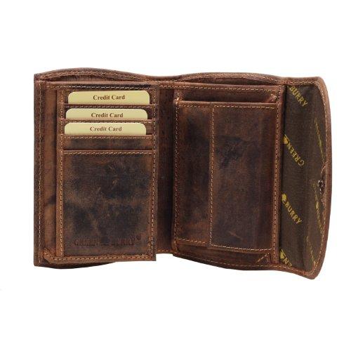 Greenburry Vintage Porte-monnaie cuir 13,5 cm braun