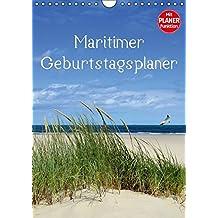 Maritimer Geburtstagsplaner (Wandkalender immerwährend DIN A4 hoch): Nordsee Impressionen - Neue Bilder! (Geburtstagskalender, 14 Seiten) (CALVENDO Natur) [Kalender] [Mar 20, 2016] Herppich, Susanne